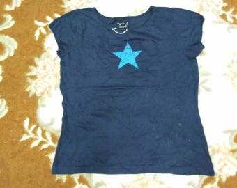 vintage agnes b t shirt for womens size 2