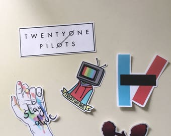 21 pilots stickers