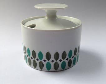 Thomas Germany sugar bowl c1960s-70s