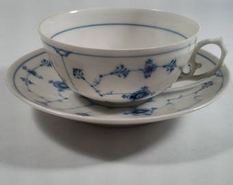 B&G Blue Lace Cup and Saucer - very delicate and beautiful!