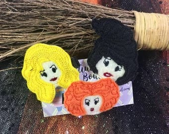 Witch Sister Hair Clips