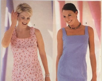 Butterick sewing pattern 6524 - Misses' petite dress - size 12-14-16