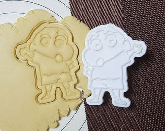 Crayon Shin-Chan Cookie Cutter and Stamp