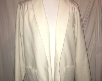 White Vintage Housecoat