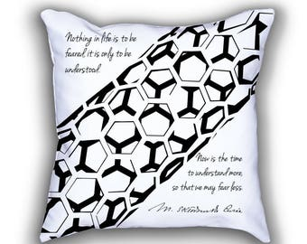 Marie Curie and Carbon Nanotube pillows