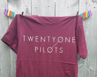 TWENTY ONE 21 PILOTS Band Inspired T shirt