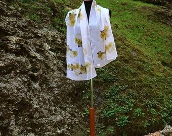 "Pashmina ""Gold flowers"" SC17109"