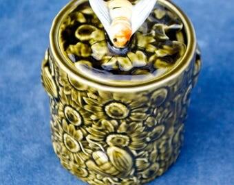 Vintage Secla Honey Pot Portugal Bee Keeping