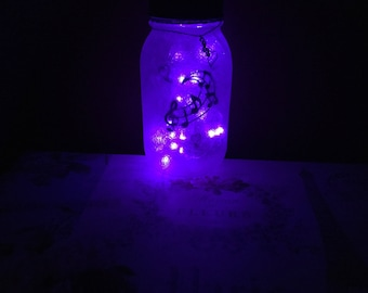 Music Note LED Mason Jar Light