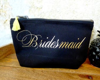 Kit witness - Bridesmaid - bridesmaid clutch - witness - wedding gift - gift bridesmaid gift
