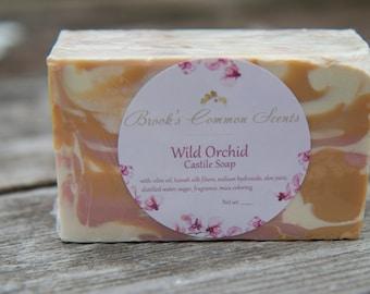 wild orchid castile soap
