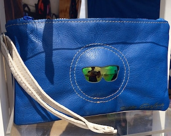 LensBags! Pouchette borsa, bolsas, bag leather sunglasses lenses