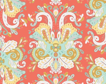 15 Yards in Stock - Voile - Art Gallery Fabrics - Poetic Saddle Vibes from Anna Elise collection by Bari J - 100% Premium Cotton Voile