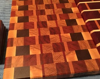 End grain cutting board!