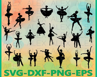 70% OFF, Ballet SVG Files, Ballet silhouettes, Ballerina SVG, Ballerina Silhouette svg files, Ballet Svg, Dxf, Png, Ai File, Instant Down
