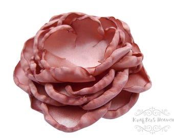 Dusty Rose Vintage Flower~Weddings~Flower~DIY Supplies~DIY Headband~Vintage Flower~Craft Supplies & Tools~Craft Supplies~Wedding Flower~