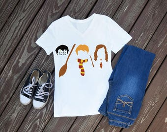 Harry Potter Trio Women's Shirt, Harry Potter, Squad Goals