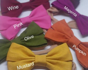 Cotton bows