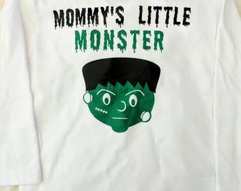 Mommy's Little Monster -Halloween shirt