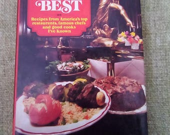 Vintage Hardcover The Best of the Best Cookbook by Arthur Hettich