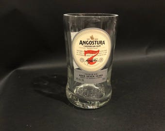 Angostura Rum Candle 7 Year Premium Rum BOTTLE Soy Candle. Made To Order !!!!! 750ML