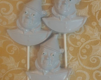 5 Tin Man from the Wizard of Oz Chocolate Pops