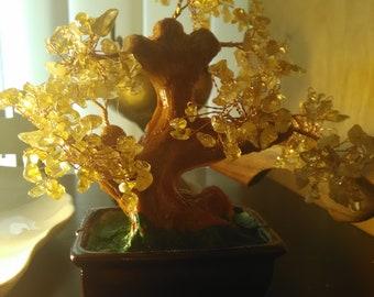 Citrine Tree//Citrine Prosperity Tree//Prosperity// Money Tree// Better Business Tree//Wealthy Waves Tree//Feng Shui Tree// Abundance tree