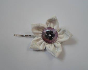 Hair pin, Kanzashi flower hair clip