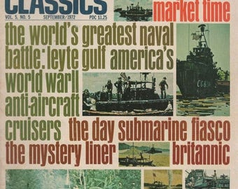 Summer Sale Sea Classics Magazine Vol. 5 No. 5 September/1972