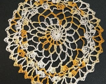 Sunlight in the Clouds Doily