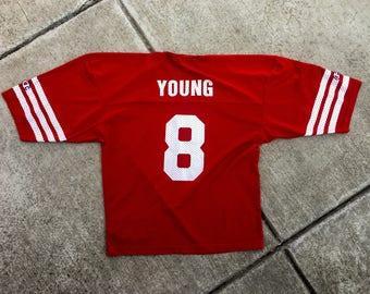 Vintage NFL Champion Jersey San Francisco 49ers Steve Young