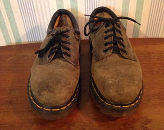 Dr martens made in england brown oxfords women's US 6