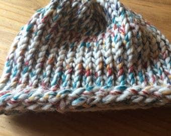 winter multi colored hat