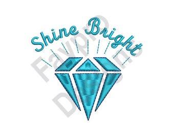 Shine Bright - Machine Embroidery Design