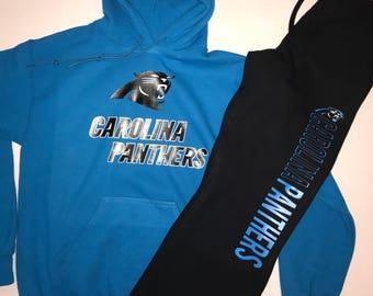Carolina Panthers Hoodie and Sweatpants