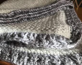 Adlt sized Crochet blanket