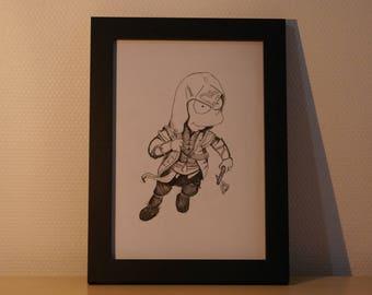 Bart simpson original assassin