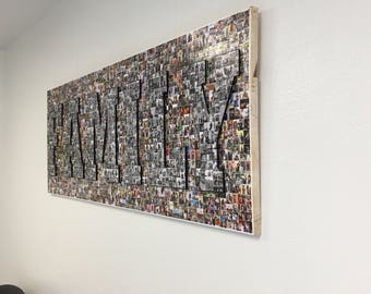 3D Mosaic Collage Wall Art