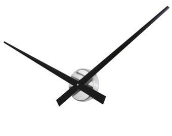 Roco Verre Big Hands Wall Clock