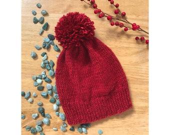 Winter Hat with Pom-Pom