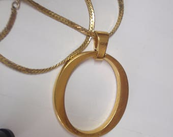 Vintage gold ladies necklace 1960/70s gold plated OROTON vintage