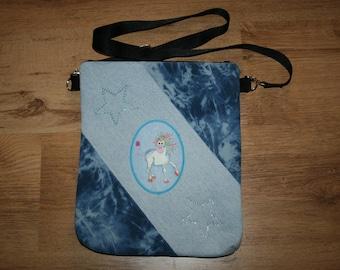 "Shoulder bag ""Jody"" Unicorn ""Crazy Unicorn"""