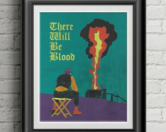 """There Will Be Blood 8""""x10"""" Print"""