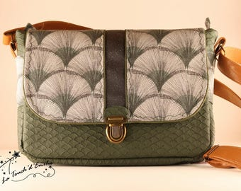 "Bag ""Middle"" variety green Touch' Emily"