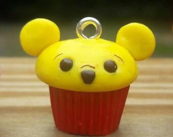 Winnie The Pooh Cupcake Charm