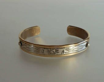 Bronze and silver bracelet Br C1104