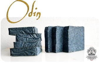 Odin , a coconut blueberry salt artisan soap bar -  Vegan - PRE ORDER MODE
