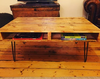 Pallet wood coffee table or media unit