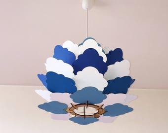 Cloud paper lamp - cloud
