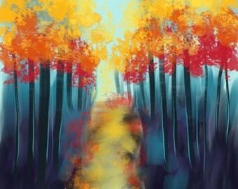 Abstrat Autumn